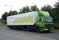 Waitrose HGV Delivery Lorry